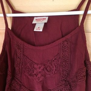 Mossimo Lace Loose Fit Tank